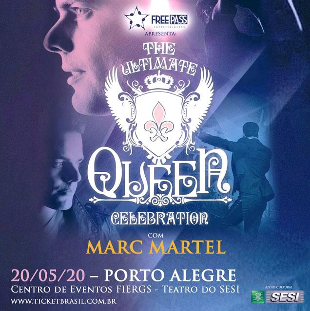 Marc Martel em São Paulo - 2020